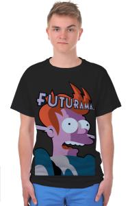 Футболка Фрай Футурама | Fry Futurama
