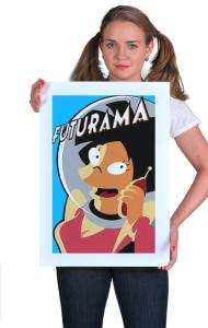 Постер Эми Вонг Футурама | Amy Wong Futurama