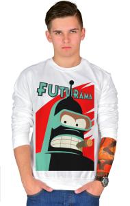 Свитшот Робот Бендер Футурама | Bender Futurama