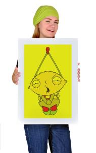 Постер Стьюи   Stewie