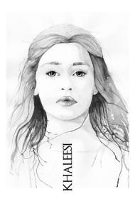 Постер Кхалиси Дейнерис  Khaleesi Daenerys
