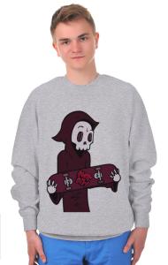 Свитшот Скейт или смерть | Skate or die