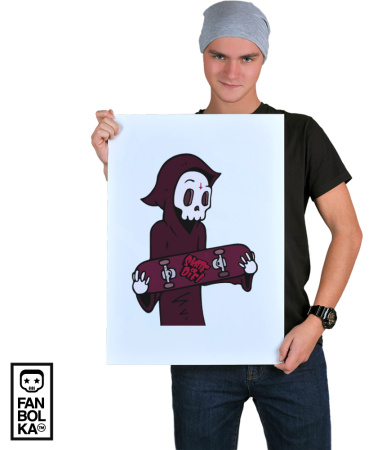 Постер Скейт или смерть | Skate or die