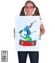 Плакат Скейт или смерть