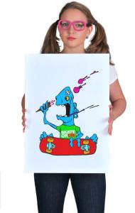 Постер  Скейт или смерть | Skate Or Die cartoon