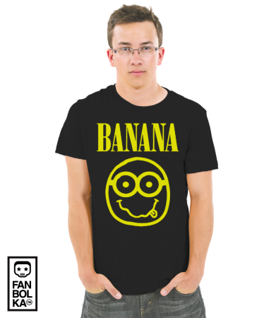 Футболка Миньон Банана   Minion Banana