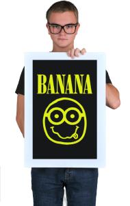 Постер Миньон Банана   Minion Banana