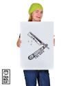 Плакат Бритва. Олдскул