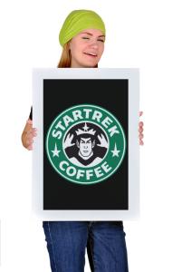 Постер Стартрек Кофе   Startrack Coffee