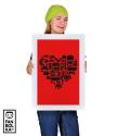 Плакат Сердце Геймера