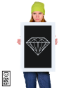 Плакат Алмаз олдскул