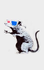 Постер Крыса Бэнкси | Banksy Rat