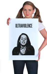 Постер Лана Дель Рей | Ultraviolence