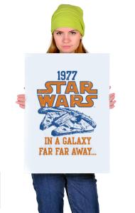 Постер Звёздные Войны Сокол | Star Wars Falcon