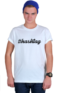 Футболка Хештег | Hashtag
