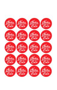 Постер Нука Кола | Nuka Cola
