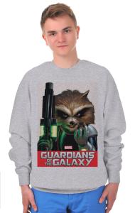 Свитшот Стражи Галактики. Ракета Енот | Rocket Raccoon