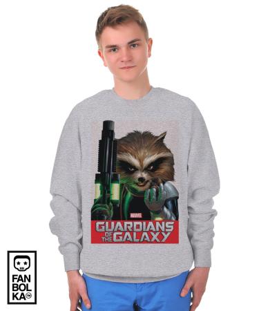 Свитшот Стражи Галактики. Ракета Енот   Rocket Raccoon