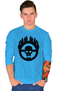 Свитшот Безумный Макс | Mad Max Fury Road Logo