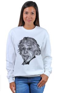 Свитшот Альберт Эйнштейн Арт|  Albert Einstein Art