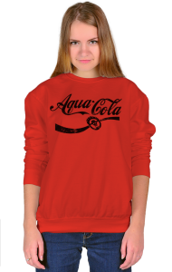 Свитшот Аква Кола| Aqua Cola