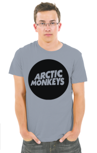 Футболка Логотип Арктик Манкис|Logotype Arctic Monkeys