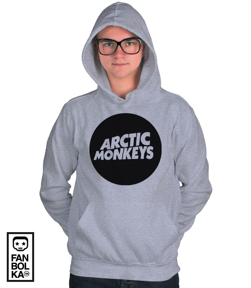 Fanbolka Hoodie Arctic Monkeys Logotype