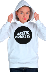 Худи Логотип Арктик Манкис|Logotype Arctic Monkeys