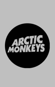 Постер Логотип Арктик Манкис|Logotype Arctic Monkeys
