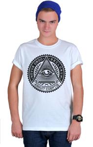 Футболка Всевидящее око| Sign of the Masons