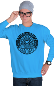 Свитшот Всевидящее око| Sign of the Masons