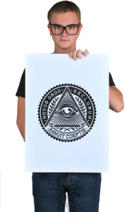 Постер Всевидящее око  Sign of the Masons