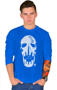 Свитшот Череп Безумный Макс | Skull Mad Max