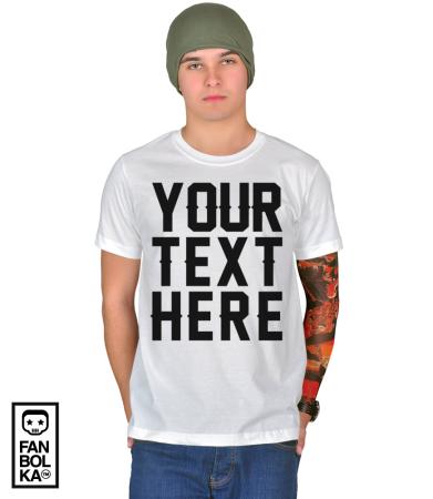 Футболка Ваша надпись | Your text here