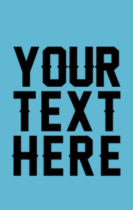 Постер Ваша надпись | Your text here