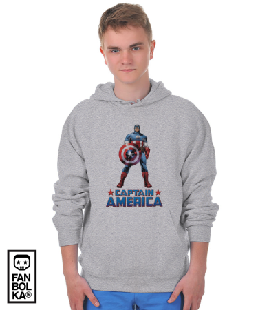 Худи Постер Капитан Америка | Captain America