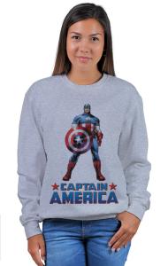Свитшот Постер Капитан Америка   Captain America