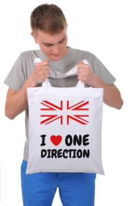 Сумка Я люблю Ван Дирекшен| I love One Direction