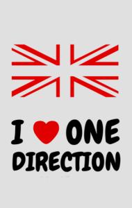 Постер Я люблю Ван Дирекшен| I love One Direction