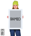 Плакат Рембо