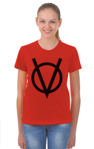Футболка V — значит вендетта |  V for Vendetta