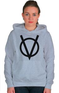 Худи V — значит вендетта |  V for Vendetta