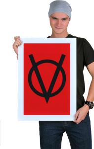 Постер V — значит вендетта |  V for Vendetta