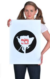 Постер Депеш Мод Наслаждайся тишиной | Depeche Mode Enjoy The Silence