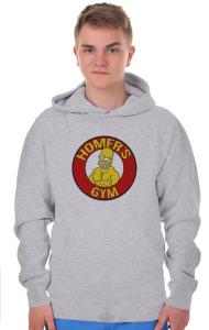 Худи Тренажерный зал Гомера | Homer's gym