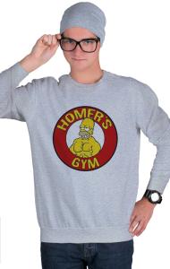 Свитшот Тренажерный зал Гомера | Homer's gym