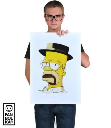 Постер Гомер Хайзенберг | Gomer Heisenberg