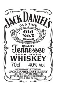 Постер Джек Дениелс  Jack Daniel's