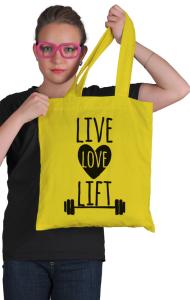 Сумка Живи Люби Поднимай | Live Love Lift
