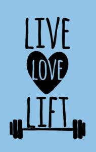 Постер Живи Люби Поднимай | Live Love Lift